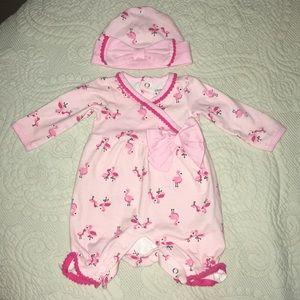 Flamingo newborn Set